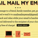 Manda una carta desde el email