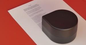 Este mini robot es en realidad una impresora de bolsillo portátil