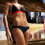 Bikinis diseñados para surferas