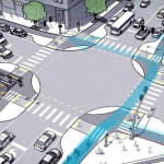 El futuro de las ciudades: Intersecciones protegidas para ciclistas